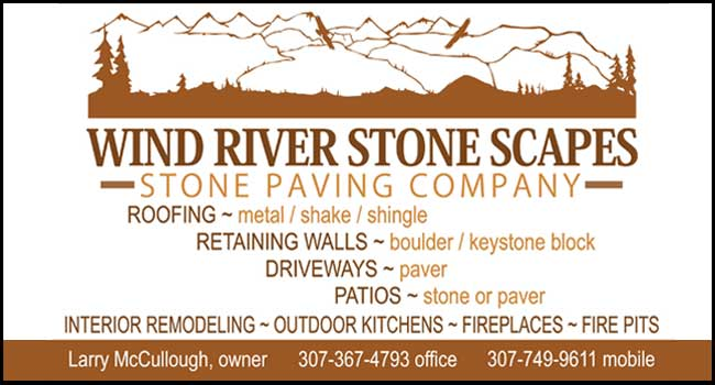 Wind River Stone Scapes. Installing pavers for over 25 years. We install!