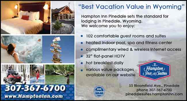 Hampton Inn in Pinedale, Wyoming