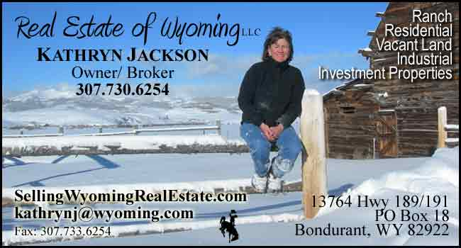 Real Estate of Wyoming - Kathryn Jackson, Bondurant