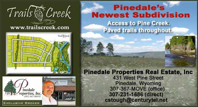 Trails Creek Subdivision in Pinedale