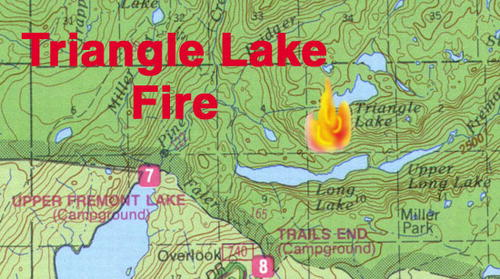 Pinedale area fires, Pinedale Online, August 14th Triangle Shirtwaist Fire Map