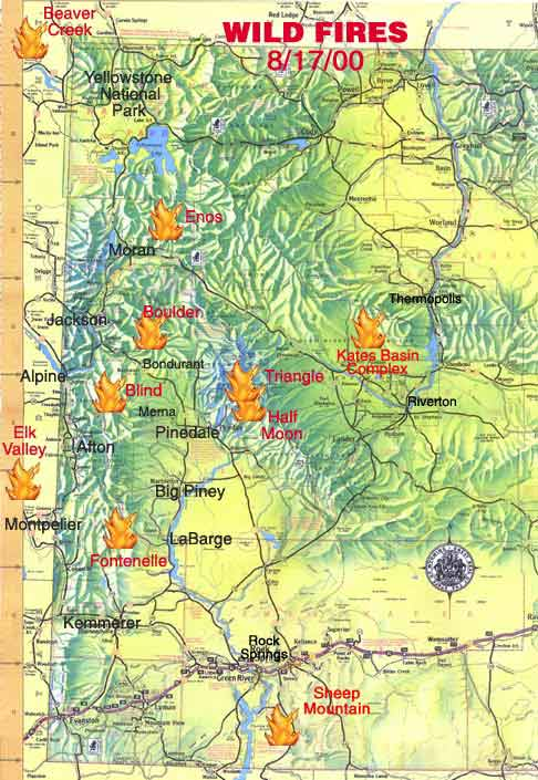 Pinedale Area Fires Pinedale Online