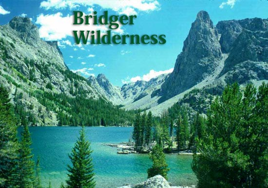 The Jim Bridger Wilderness. US Forest Service photo, Bridger-Teton National Forest
