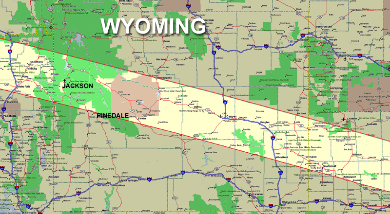 Total Solar Eclipse August 21 2017 Pinedale Wyoming Pinedale Online