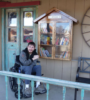 The Jimmy Sims Little Free Library
