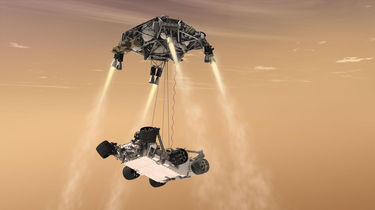 Mars Rover. Image courtesy NASA