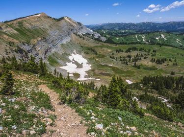 Wyoming Range trail. Photo by Dave Bell.