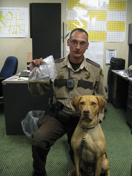 SCSO announces the passing of retired K9 'Max'.