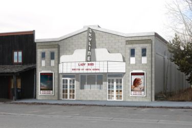 Main Street Pinedale launches Skyline Movie Theater project.