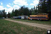 Bus Village. Photo by Dawn Ballou, Pinedale Online.