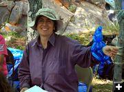 Karin Zirk. Photo by Dawn Ballou, Pinedale Online.