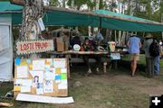 Information Tent. Photo by Dawn Ballou, Pinedale Online.