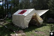 Medical Tent. Photo by Dawn Ballou, Pinedale Online.