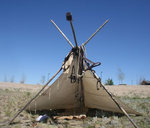 Mountain Man Shelters : Mountain man tent pinedale online news wyoming