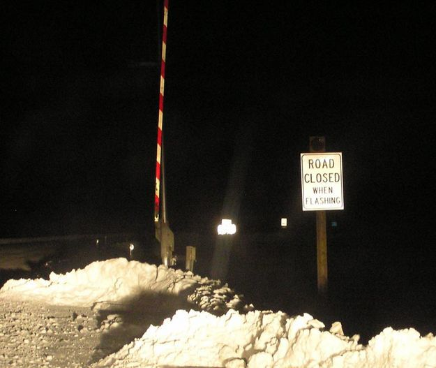 Road closure gate pinedale online news wyoming