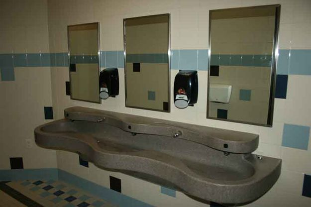 Bathroom sink - Pinedale Online News, Wyoming