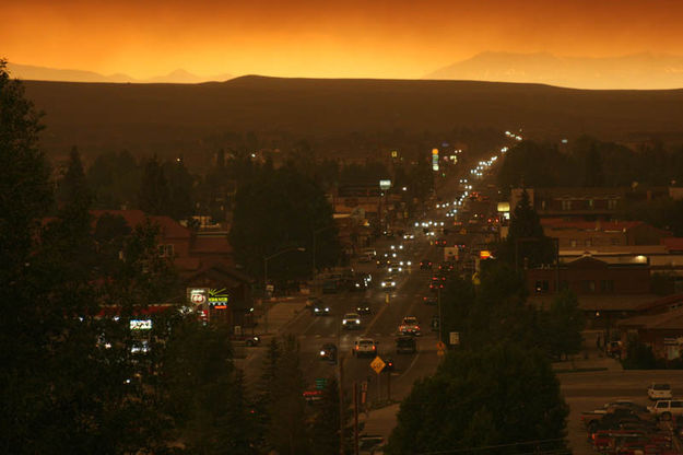Thursday smoke in Pinedale - Pinedale Online News, Wyoming