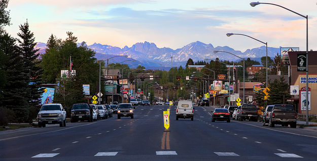 Downtown Pinedale - Pinedale Online News, Wyoming