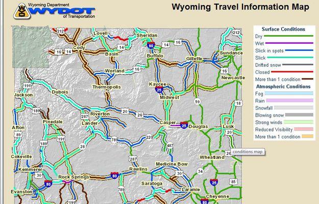 wyoming road condition map Wyoming Road Conditions Pinedale Online News Wyoming wyoming road condition map