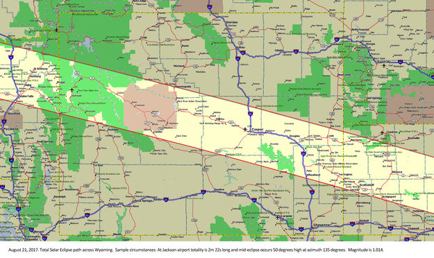 Eclipse In Wyoming Pinedale Online News Wyoming