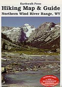 Earthwalk Press Map, North Wind River Mountains