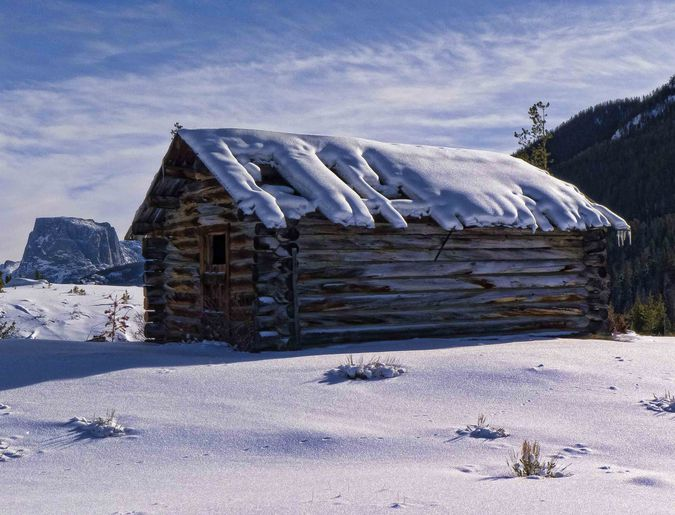 Old Cabin. Photo by Dave Bell.