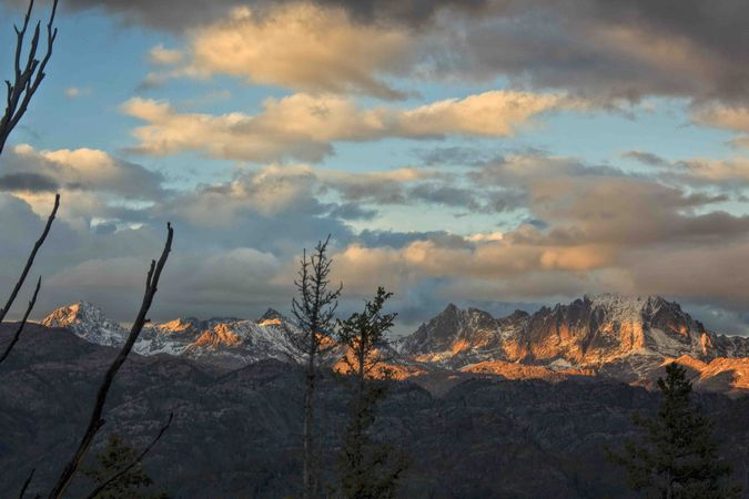 Sundown On The Northern Range. Photo by Dave Bell.