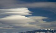 Elk Mountain Lenticular Clouds. Photo by Dave Bell.