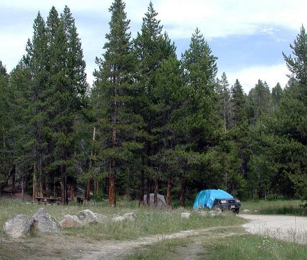 Pinedale Campgrounds Wyoming