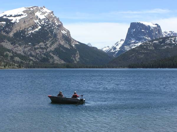 green river lakes campground and trails wyoming