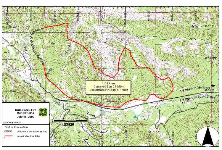 Nifc Large Fire Map.Pinedale Area Fires Pinedale Online
