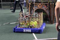 Big Piney High School Robotics Team 3288 participated in the Salt Lake City Regional FIRST Robotics Competition. They placed 7th out of 48 teams. Photo courtesy Big Piney Robotics.