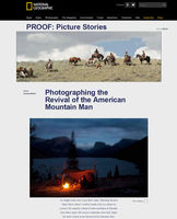 Revival of the American Mountain Man - new video by David Burnett for National Geographic.