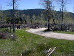 Stock corrals at New Fork Lakes trailhead