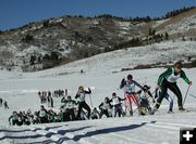 High School Nordic Skiing meet
