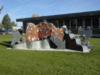 Pinedale School Sculpture