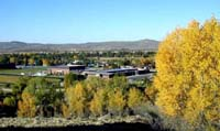 Pinedale in the fall