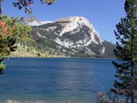Green River Lakes and White Rock Mountain. Pinedale Online photo.