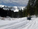 Wyoming Range snowmobiling. Photo by Triple Peak