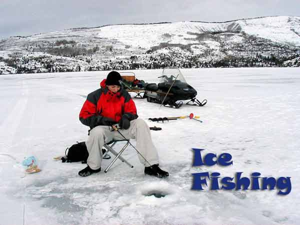 wyoming ice fishing pinedale wyoming