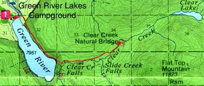 Clear Creek Natural Bridge Virtual Tour, Pinedale, Wyoming