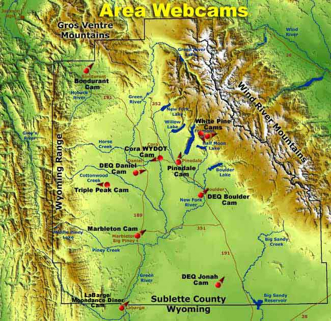 Pinedale Wyoming and Sublette County Wyoming Webcams ...
