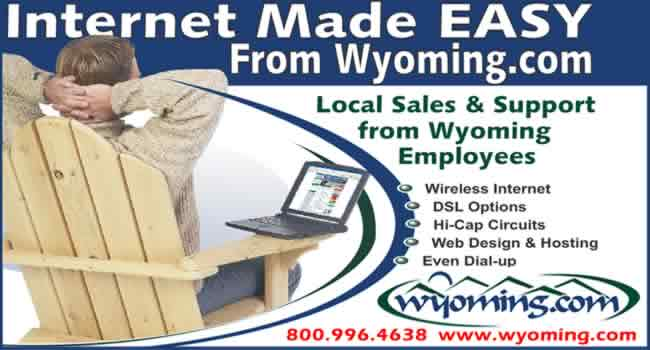 Wyoming.com. Internet Made EASY.