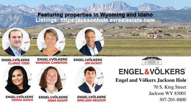 Jim Hickey, Engel & Völkers Jackson Hole