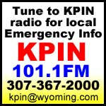Tune to KPIN Radio, 101.1 FM, for emergency information.