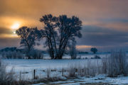 Morning In LaBarge. Photo by Dave Bell.