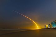 Launch-Starlink-22. Photo by Dave Bell.